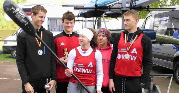 AKC erfolgreich beim Kanu Marathon in Kassel 052016