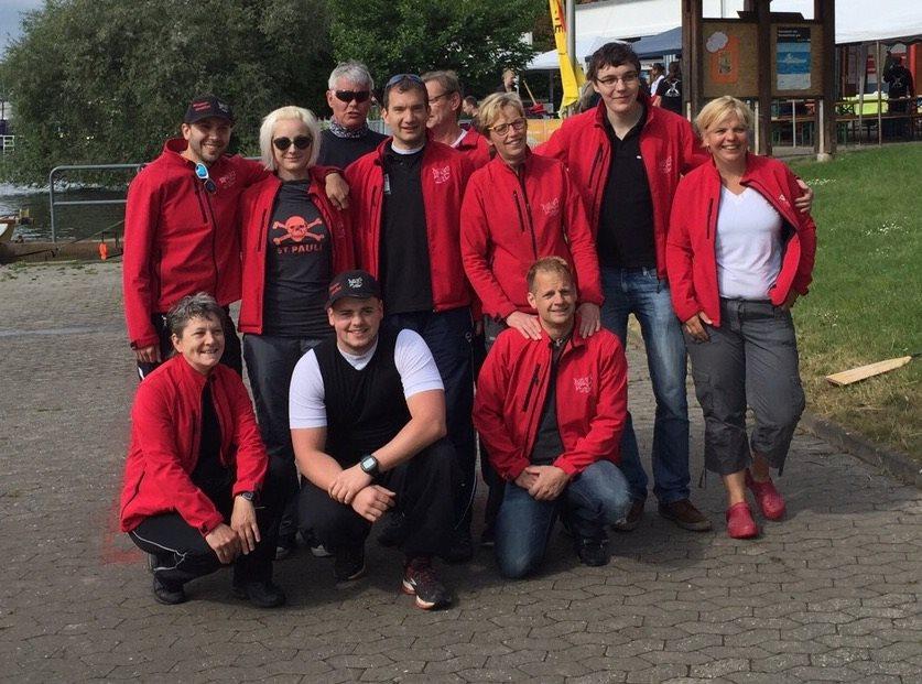 Bild Weltrekord der wasserspalter in Koblenz 2015-05