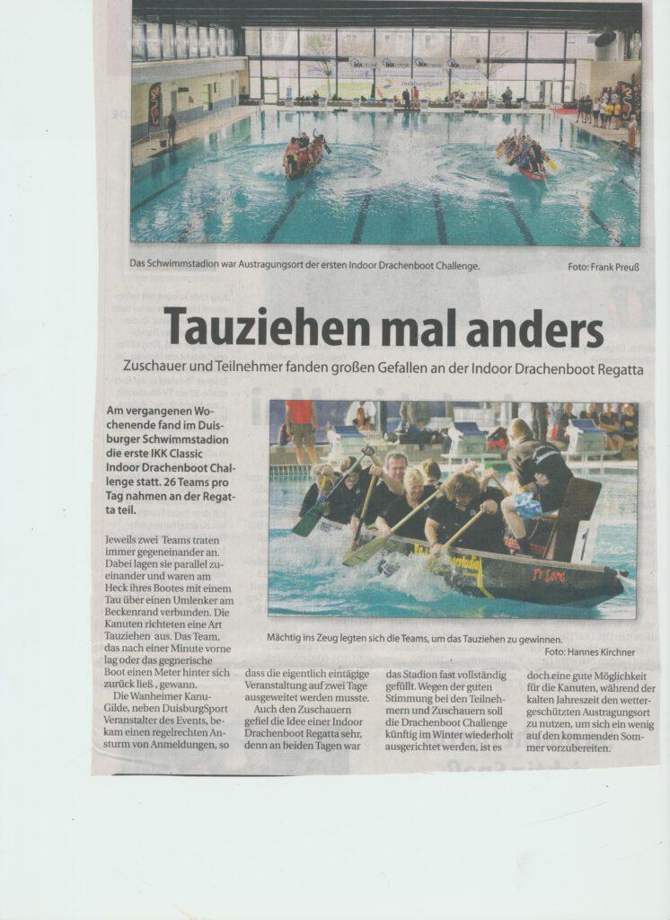 Indoor Drachenboot Regatta Schwimmstadion 2112015 001