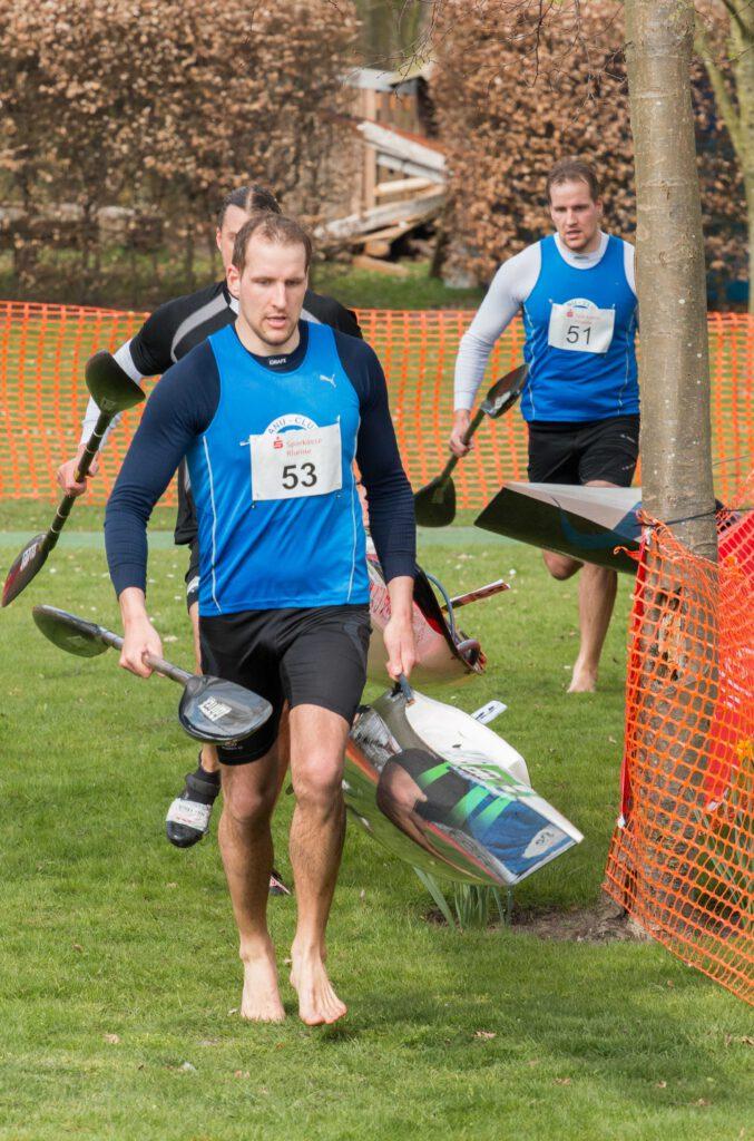 Landesmeisterschaft im Kanu Marathon die Wölke Brüder vom KCF 042016