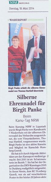 Panke-Ehrennadel