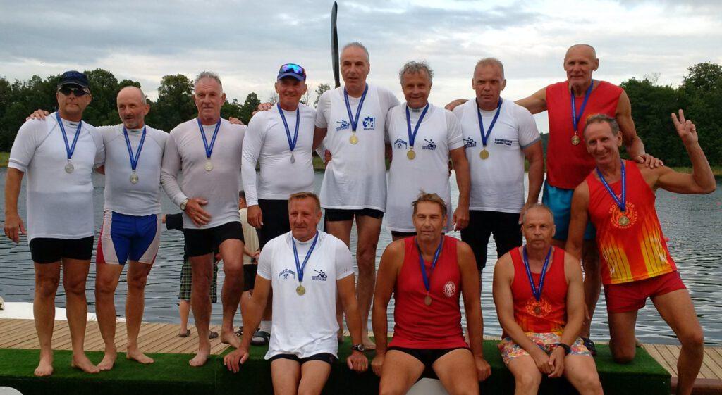 Sieger der Sprint Masters WM 60+