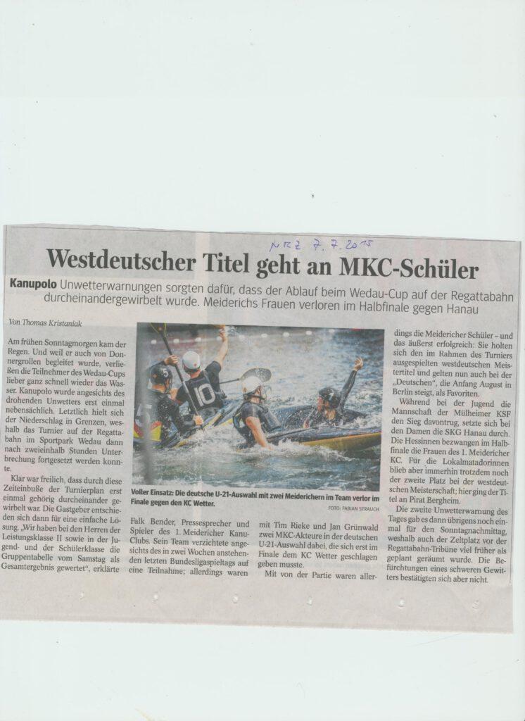 Westdeutscher Titel an MKC Schüler 002