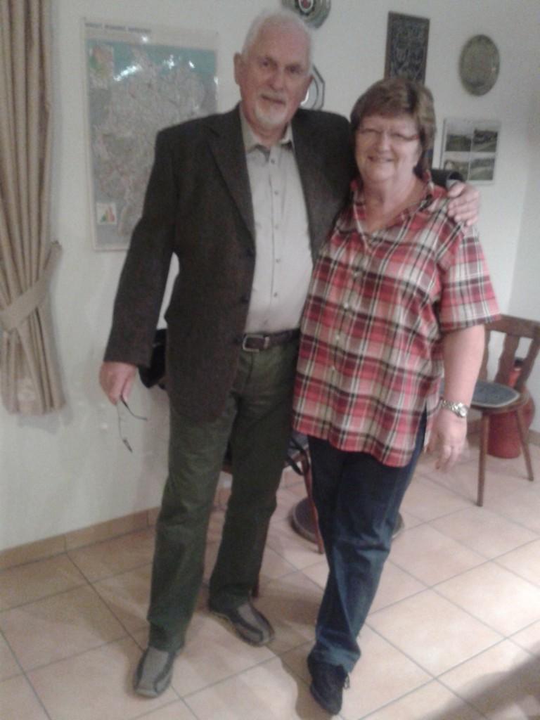 Udo Pollmeier 2. Vorsitzender. + Andrea Rother 1. Vorsitzende