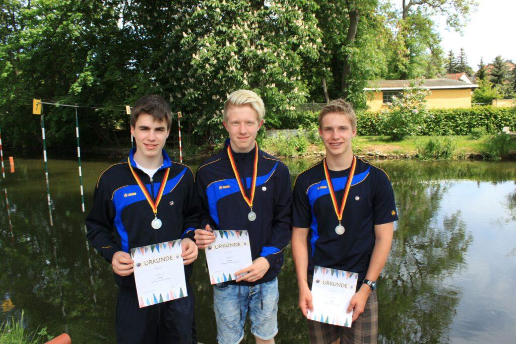 2. Platz DM im Wildwassersprint in Sömmerda vom SSV Rheydt 052016